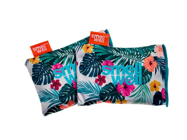 SmellWell Active Inserts Neutralisateurs D'Odeurs Pour Chaussures Et Équipement, hawaii floral